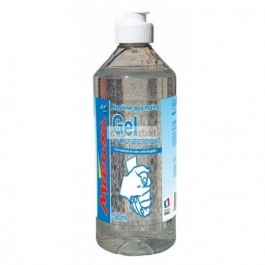 Flacon de gel hydro-alcoolique 500 ml