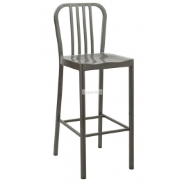 Tabouret navy hauteur d'assise 75 cm - utilisation in and out