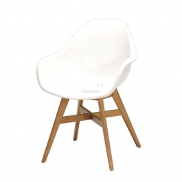 Fauteuil vergio blanc in & out